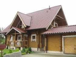 Рубленые дома и бани удобные и комфортные